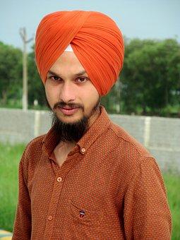 Sikh, Turban, Sikh Turban, Sikh Personality, Smile