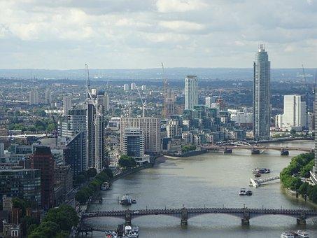 London, Skyline, City, United Kingdom, Capital
