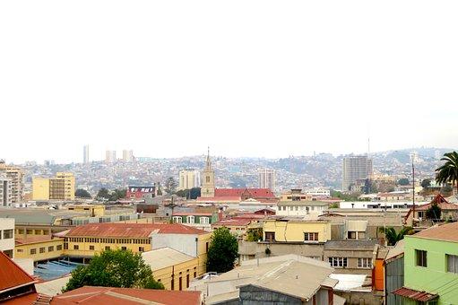 Valpraiso, Chile, Buildings, City, Architecture, View