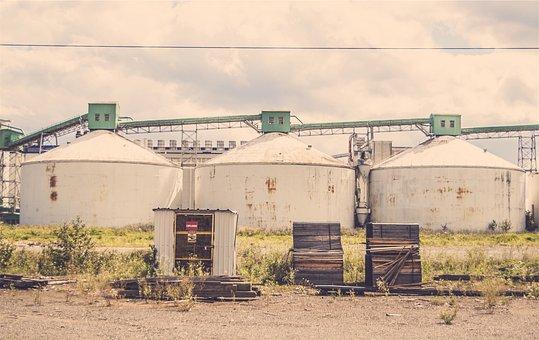 Industrial, Silos, Warehouses