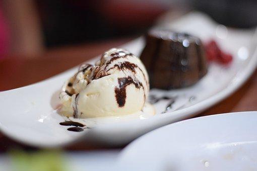 Ice Cream, Almond, Almond Chocolate, Chocolates