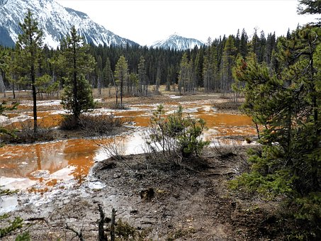 Nature, Landscape, Mud, Brown, Dye, Minerals