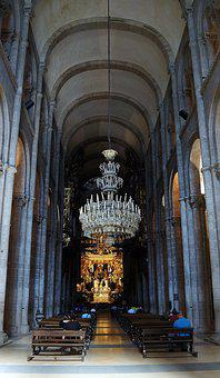 Church, Interior, Religion, Religious, Catholic