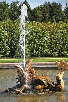 Fountain, Mouth, Jet, Water, Splash, Foam, Spray