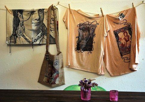 Shopping, T Shirt, Ladies, Bag, Clothing, Fashion