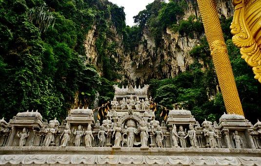 Batu, Malaysia, Asia, Temple, Lumpur, Travel, Cave