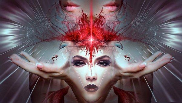 Fantasy, Portrait, Surreal, Woman, Mystical, Beauty