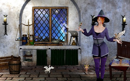 Fantasy, Mage, Mythical Creatures, Conjure, Witch Hat