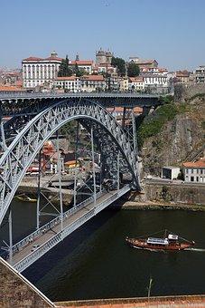 Porto, Oporto, Bridge, Portugal, City, Architecture