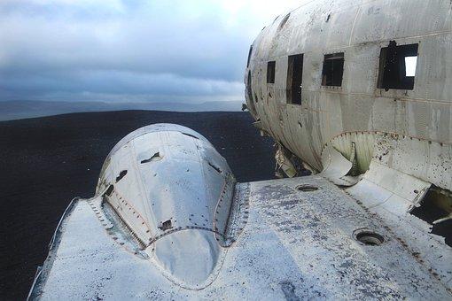 Aircraft, Crash, Plane Crash, Iceland, Wreck, Beach