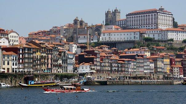 Porto, Oporto, Riverside, River, City, Portugal