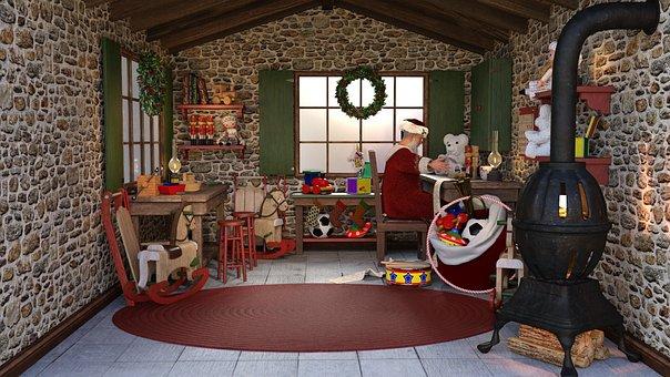 Christmas, Christmas Time, Santa Claus