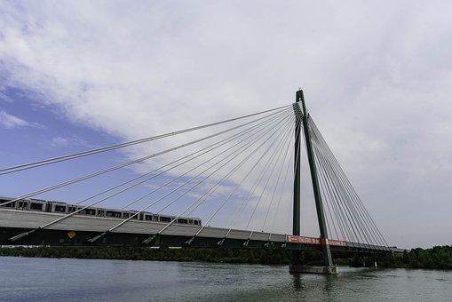 Bridge, Train, Steel, Steel Structure, Capital
