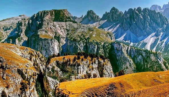 Val Gardena, Dolomites, Nature, Landscape, South Tyrol