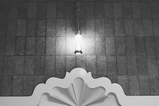 Lights, Cylinder, Wall