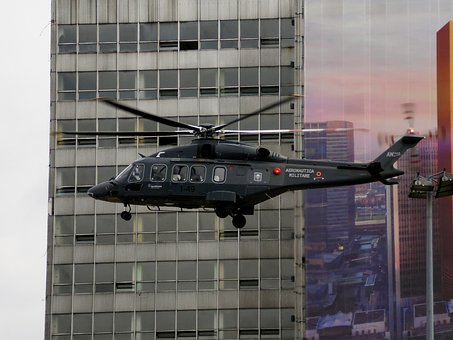 Helicopter, Katowice, Leonardo, Augusta