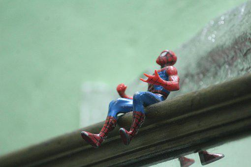 Spiderman, Toy, Heroes, Character, Comicon