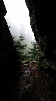 Nature, Rocks, Wild, Shadow, Contrast, Mountain, Light