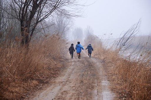Yellow River, Wetlands, Childlike