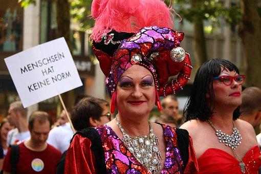 Csd, Parade, Pride, Demonstration, Drag, Colorful