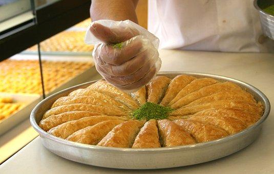 Sweet, Baklava, Food, Food Photo, Nutrition, Delicious