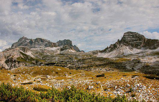 Schuster Plate, Dolomites, Mountains, Italy