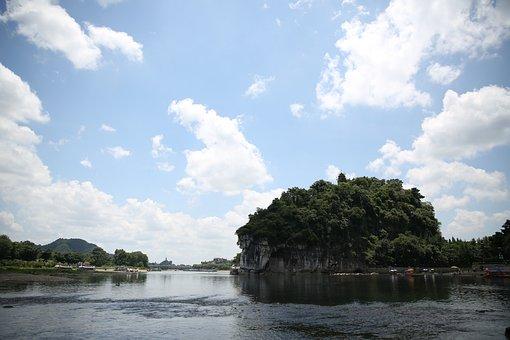 The Scenery, The Li River, Elephant Trunk Hill