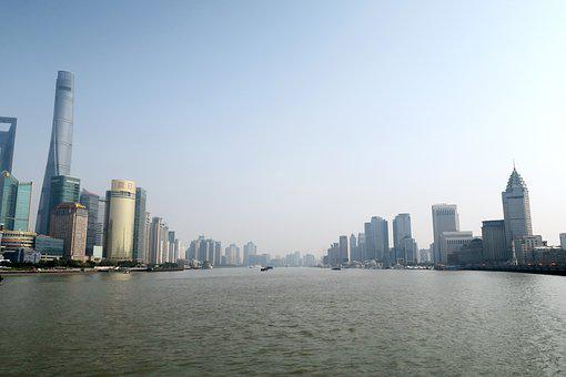 Huangpu River, Shanghai, Financial Center