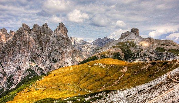 Birkenkofel, Dolomites, Mountains, Italy, South Tyrol