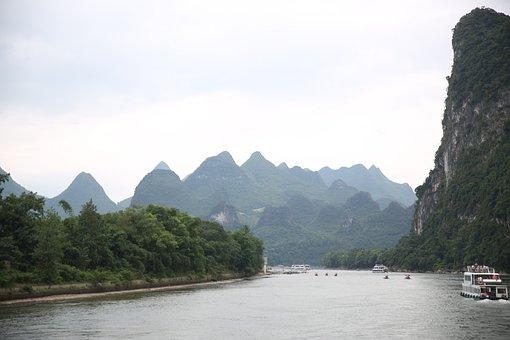 The Scenery, The Li River, Landscape