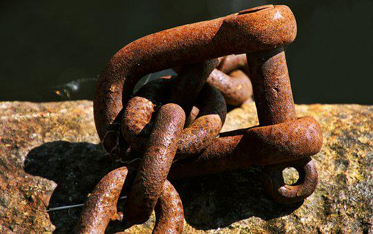 Rust, Chain, Metal, Old, Steel, Iron, Strong, Link