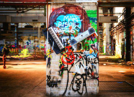 Keyboard, Musical Instrument, Lost Places, Pforphoto