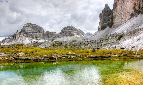 Paternkofel, Dolomites, Mountains, Italy, South Tyrol