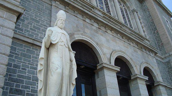 Sculpture, Statue, Religious, Saint