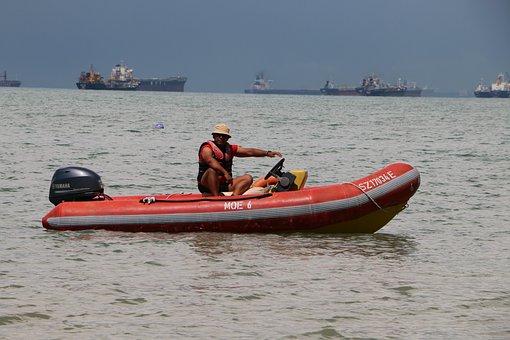 Boat, Sea, Sport, Sail