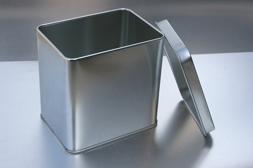 Tin Can Open, Tea Caddy, Packaging, Metal Cans Supplier