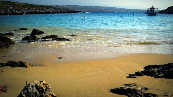 Beach, Sand, Sea, Sandy Beach, The Stones, Summer