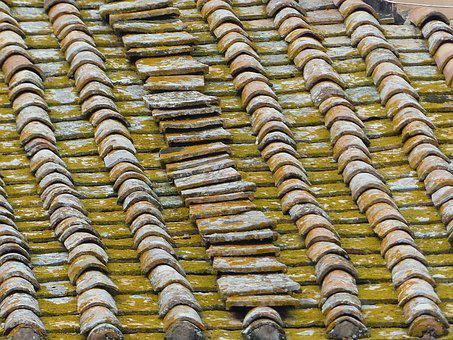 Roof, Tiles, Terracotta, Roofing, Channel, Texture