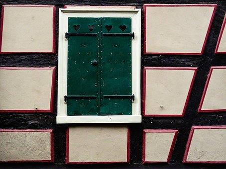 Fachwerkhaus, Truss, Historically, Building, Old Town