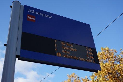 Ad, Scoreboard, Information, Letters, Railway Station