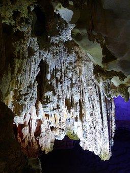 Cave, Stalactite Cave, Calcium Deposits, Stalagmites