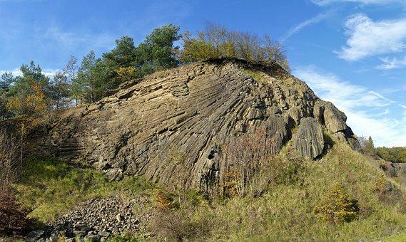 Basalt, Rock Formation, Columnar Basalt, Linden Butt