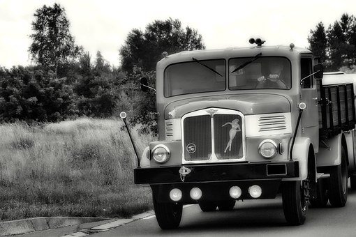 Truck, Ifa, H6z, H6, Ddr, Historically, East Germany