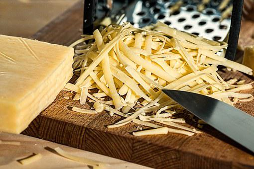 Grated Cheese, Grater, Cheese, Dairy Product, Kitchen