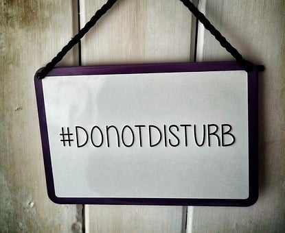 Sign, Disturb, Do Not Disturb, Notice, Hashtag