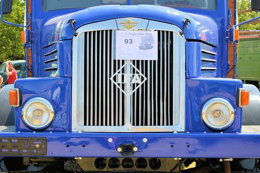 Truck, Historically, Oldtimer, Ifa-h6-h6z, Ifa, Ddr