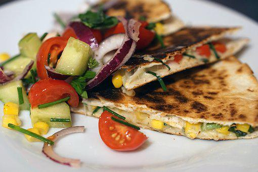 Quesadilla, Mexican, Healthy, Delicious, Corn Bread
