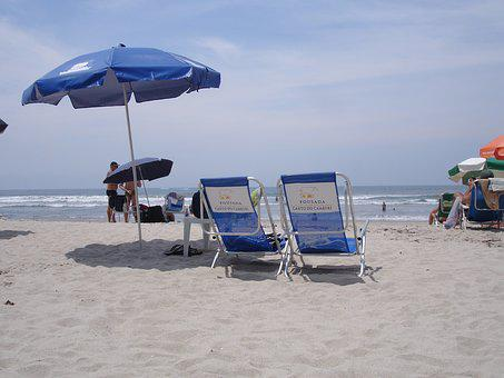 Beach, Sol, Summer, Cottage, Rest, Sand, Deck Chair
