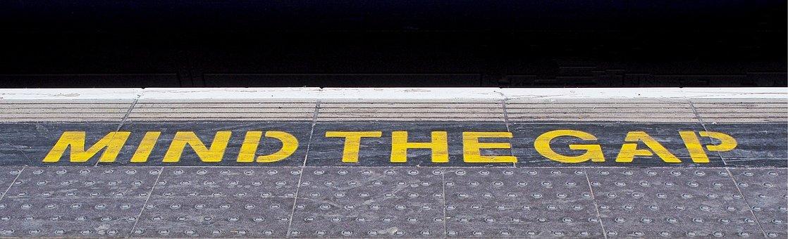 Railway, Platform, Mind, Gap, Mind The Gap, Travel