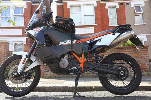 Motorcycle, Ktm, 990 Adventure R, Off-road, Vehicle